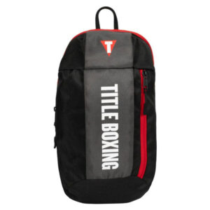 Backpack Title Boxing Road Work