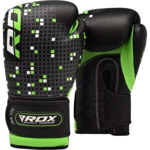 Παιδικά γάντια προπόνησης RDX Green