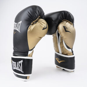 Γάντια προπόνησης Everlast Powerlock Black/Gold