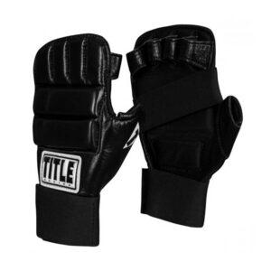 Γάντια προπόνησης TITLE Boxing Leather Super Speed Bag Gloves