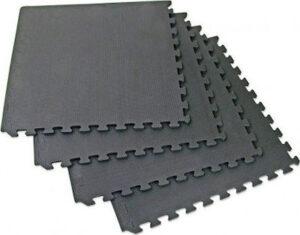 Δάπεδο προστασίας TRD Puzzle EVA 1.2cm Black (60 x 60cm x 4 τεμάχια)